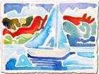 Micro Watercolor (Boat)